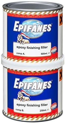 Epoxy Finishing Filler Light Grey 750 grm