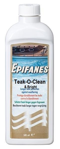 Epifanes Teak-O-Clean and Bright
