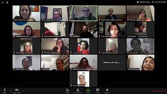 Encontro virtual da Trinus com os alunos