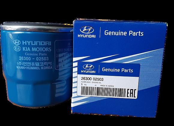 Filtro de aceite original para Hyundai ATOS - i10