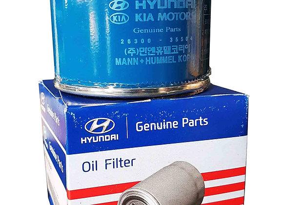 Filtro de aceite para Hyundai Verna/Giro/Tucson Gasolina.