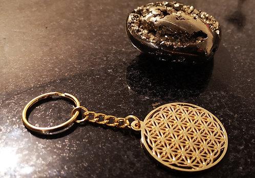 """Porte clés """"fleur de vie"""""""