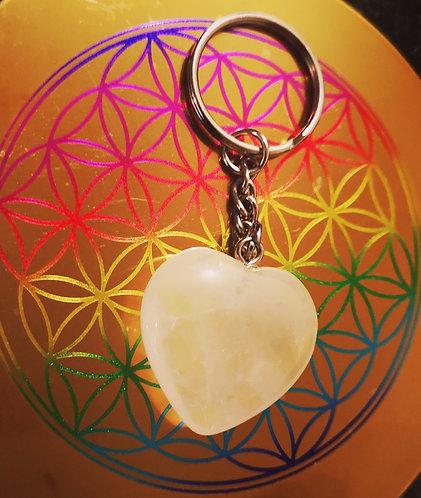 Porte clés pierres semi précieuses