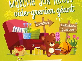 Marché aux Fleurs et Artisanat - Vide Grenier Géant - dimanche 5 mai 2019