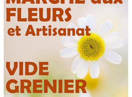 Marché aux Fleurs et Vide Grenier Géant 2018