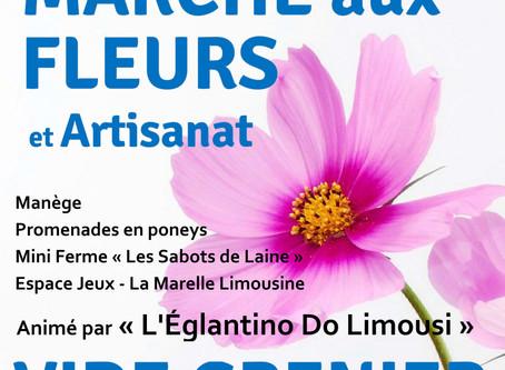 Marché aux Fleurs et Vide Grenier géant :