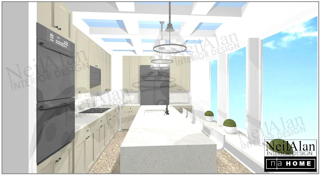 Neil Alan Designs - San Diego Interior Design - HARBOR CLUB #3705 KITCHEN.jpg