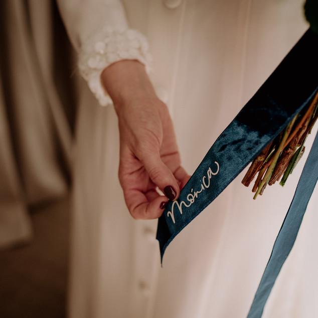 Lazo de ramo de novia