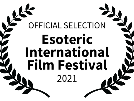 Eye & the Oracle series accepted as Official Selection for the Esoteric Film Festival in Moscow.