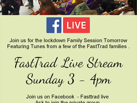 FastTrad Live Family Session 3-4pm Sunday 3 May