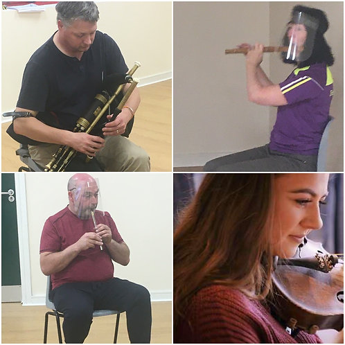 Tin Whistle Classes All Levels with Mary F, Colin, Paul, Niamh,Ian