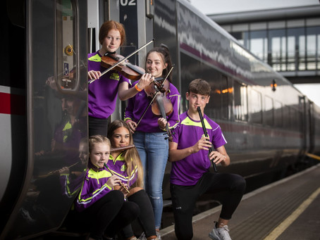 Trad on the Train to Drogheda Fleadh 12th August 2019