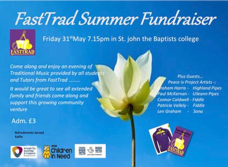 Latest on Summer Fundraiser