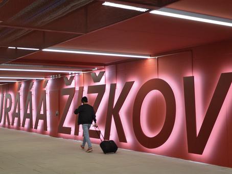 Neuer Fußgängertunnel Verbindet Prager Hauptbahnhof Mit Žižkov