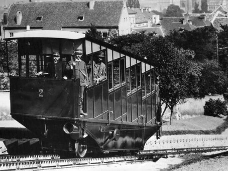 130 Jahre Petřín-Seilbahn in Prag