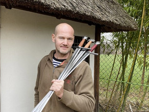 Jiří Kadlec- the man who created the weapons for Merlin, Joan of Arc and other iconic historic movie
