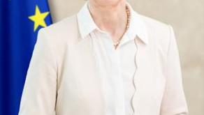 Ursula von der Leyenová, předsedkyně Evropské komise, navštívila Českou republiku