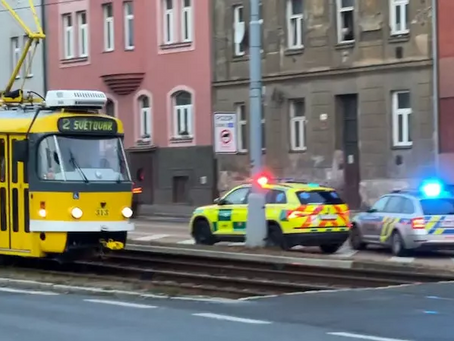 A 72-year older man was hit by a tram