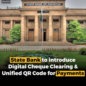 State Bank to introduce digital cheques clearing and a unified QR code for payments
