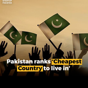 Pakistan is ranked as the world's cheapest country to live in.