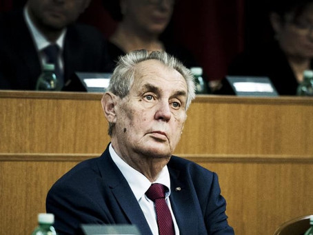 Zeman's attack on trans people condemned as threat to sexual minorities' mental health
