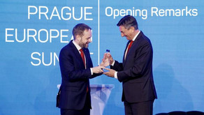 President Pahor calls for participation in discussion on Europe's future at Prague European Summit