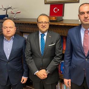 Turkish Embassy Prague is at Embassy of Turkey Prague.