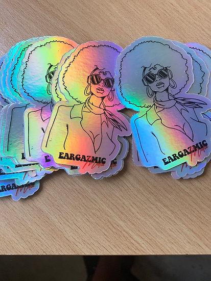 Eargazmic Diva Stickers
