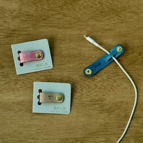 なくさないシンプルコードホルダー PREMIUMシリーズ【Italian Leather】