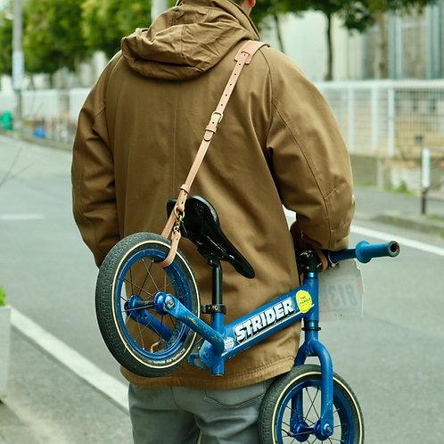 レザーキャリーストラップ for キックバイク