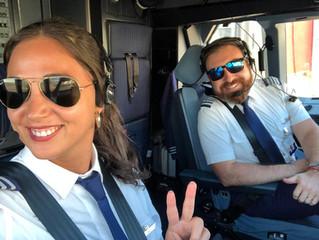 Pilotos del CAN tripulación LATAM
