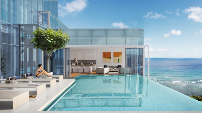 THE MOST EXPENSIVE PENTHOUSE IN HONOLULU IS ON THE MARKET FOR $36 MILLION
