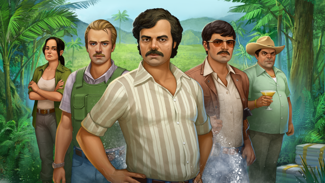 'NARCOS' MOBILE GAME BASED ON NETFLIX SHOW WILL LET YOU RUN YOUR OWN DRUG CARTEL (EXCLUSIVE)