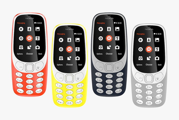 THE CLASSIC NOKIA 3310 IS BACK. (SO IS SNAKE.)