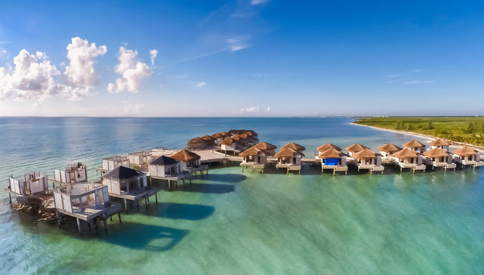 EXPERIENCE MEXICO'S FIRST OVERWATER BUNGALOWS