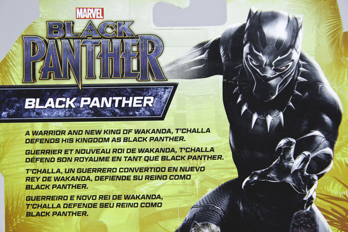 MARVEL BLACK PANTHER 6-IN BASIC ACTION FIGURE AND TITAN HERO SERIES BLACK PANTHER TOY PREVIEW