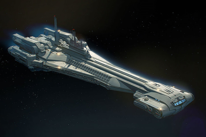 GALACTIC STARCRUISER ADMIRAL