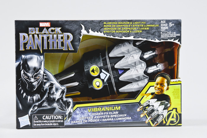 MARVEL BLACK PANTHER VIBRANIUM POWER FX CLAW AND SLASH CLAW TOY PREVIEW