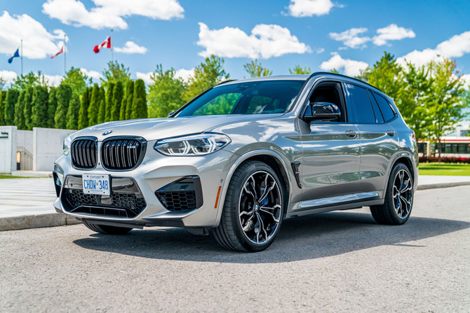 THE 2021 BMW X3M COMPETITION