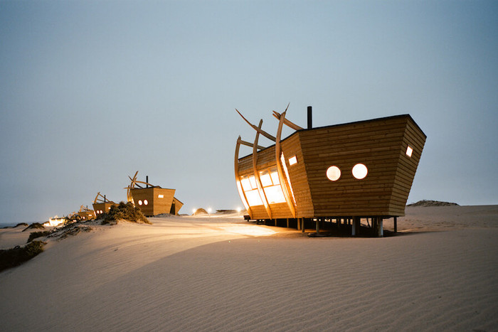 SHIPWRECK LODGE IS A PLACE OF IMAGINATION