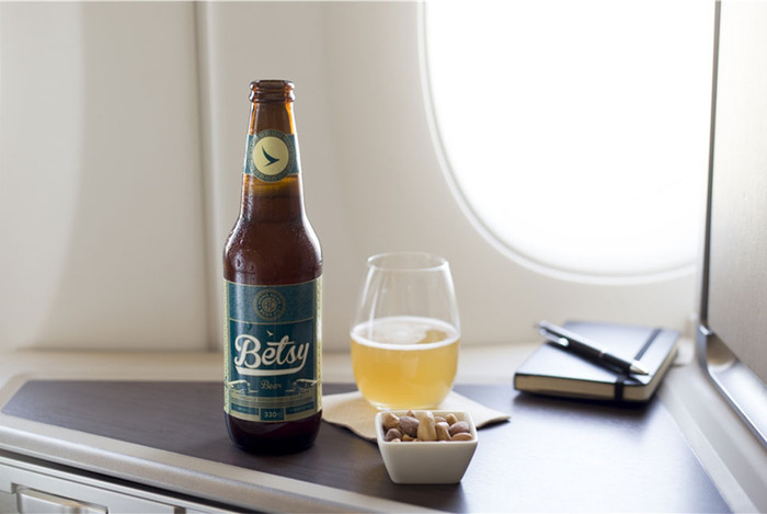 A BEER YOU CAN ONLY FIND AT 35,000 FEET