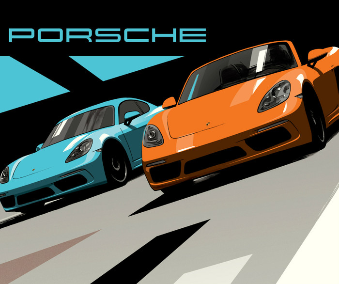 CHECK IT OUT: PORSCHE GOES RETRO ON SOCIAL