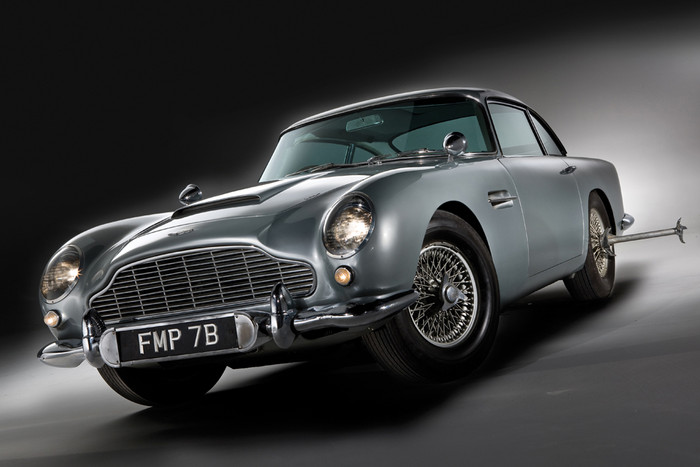 ASTON MARTIN GOLDFINGER DB5 CONTINUATION
