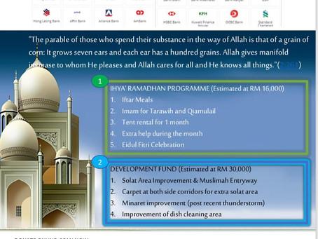 Tabung Infaq Ramadhan 2019