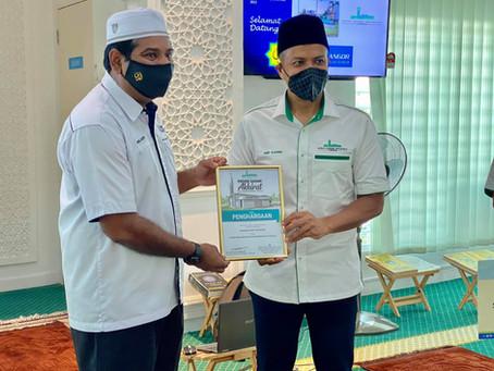 Lawatan Lembaga Zakat Selangor ke SGR