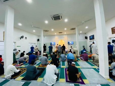 Solat terawih 7 Ramadhan 1432H