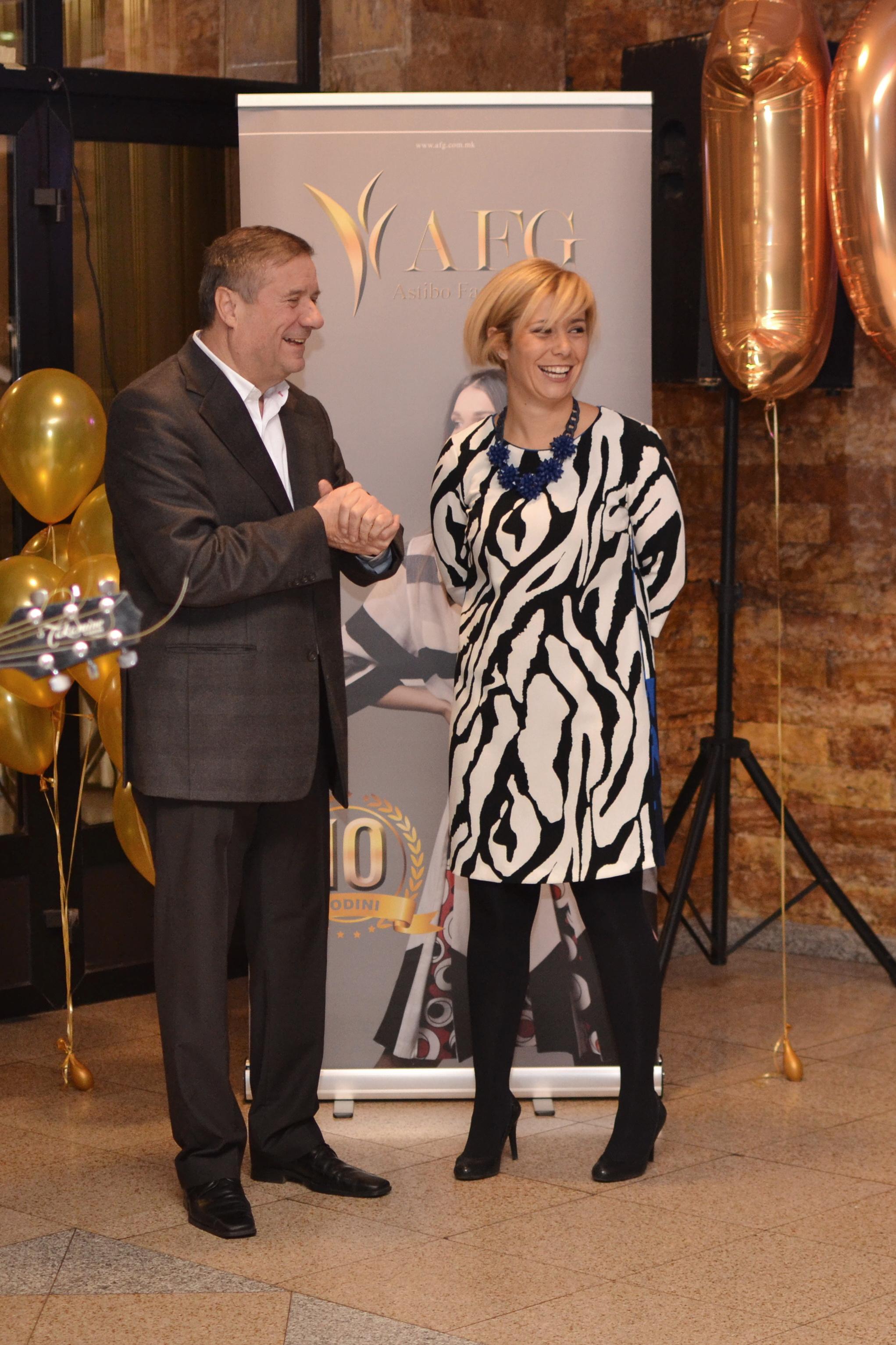Mr. Filipov and Mrs. Stojmirova