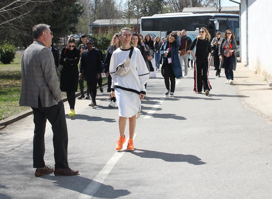 Visit of designers - United Fashion 2019