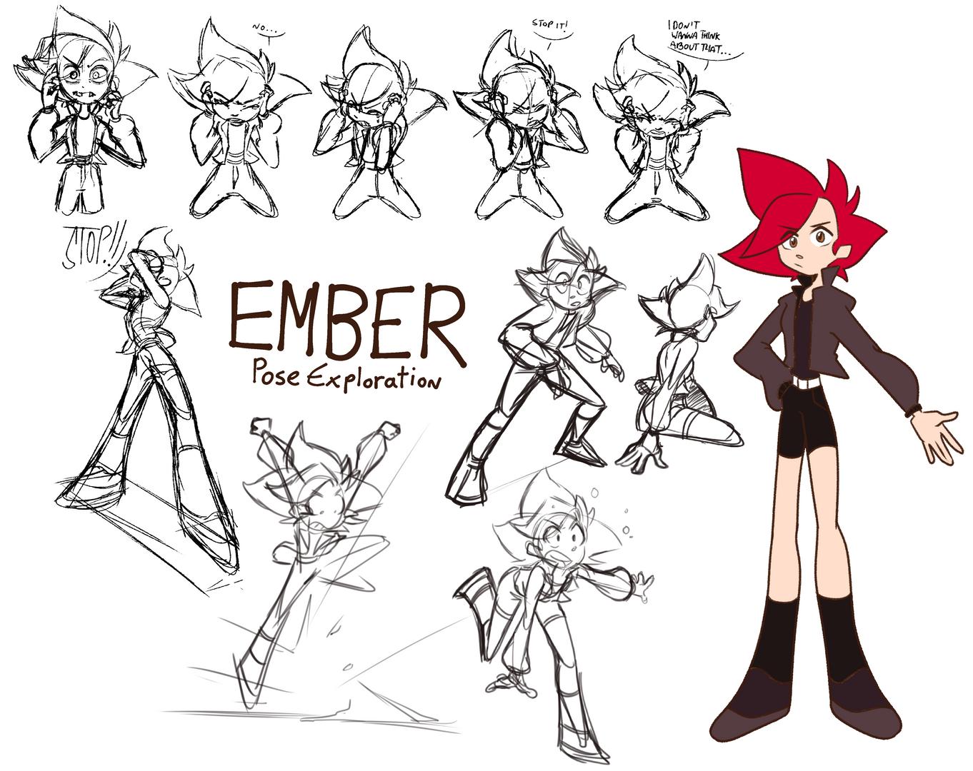 Ember Pose Exploration