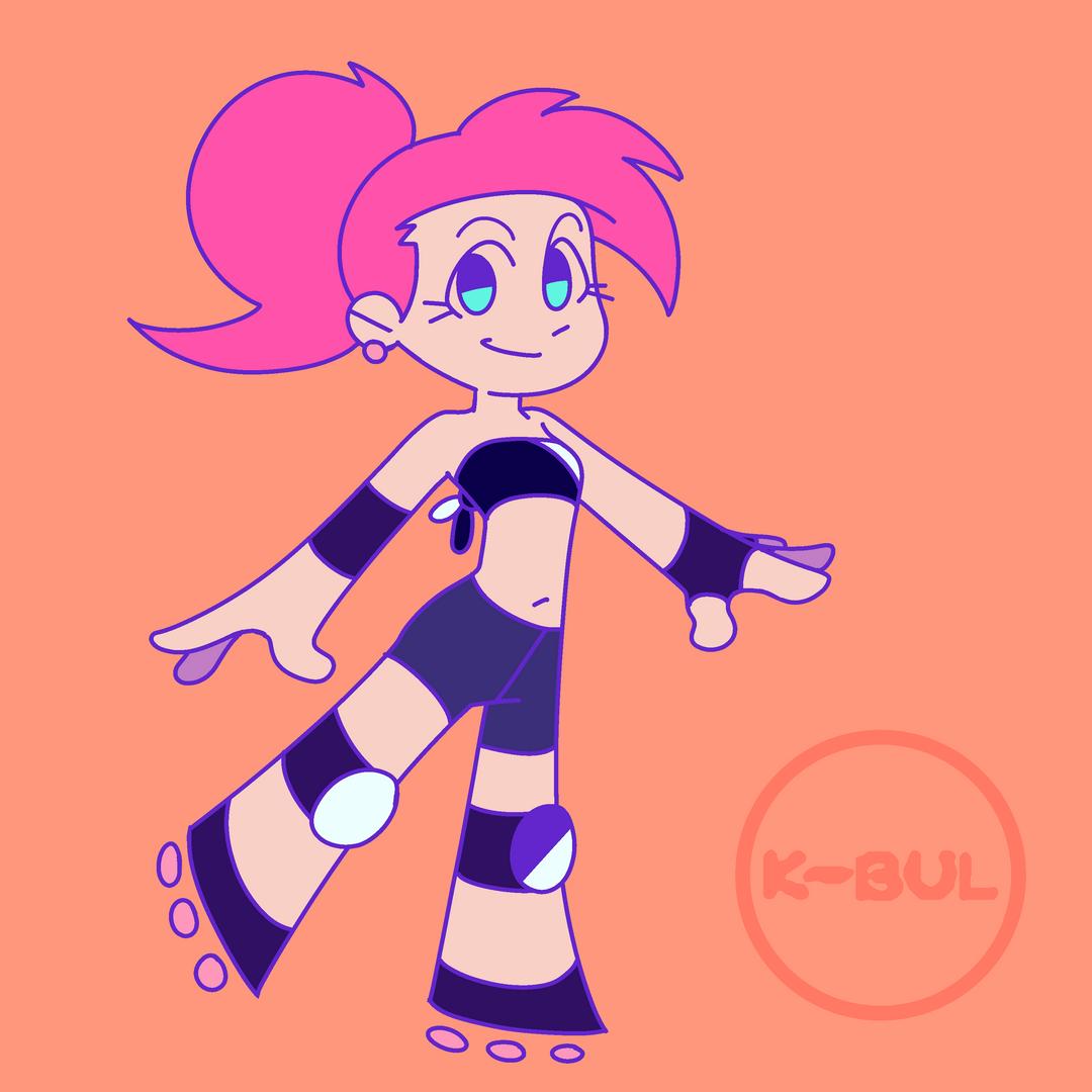 Lira Character Design (2019)